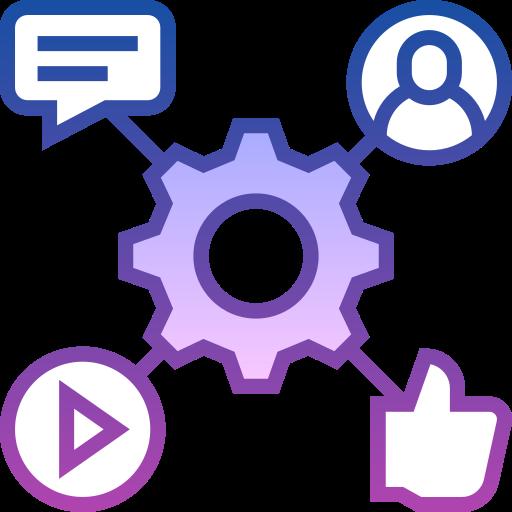 إدارة الحسابات على مواقع التواصل الإجتماعي